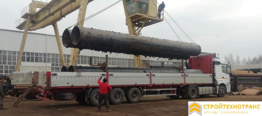 перевозка 20 тонн на длинномере по Москве