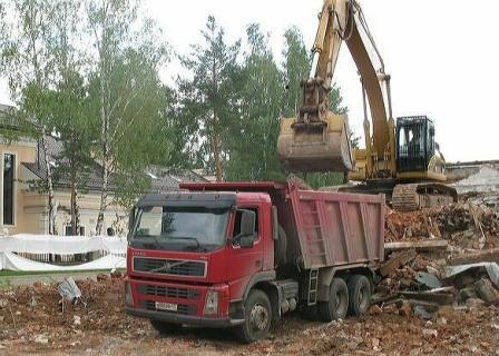 Утилизация грунта и строительного мусора