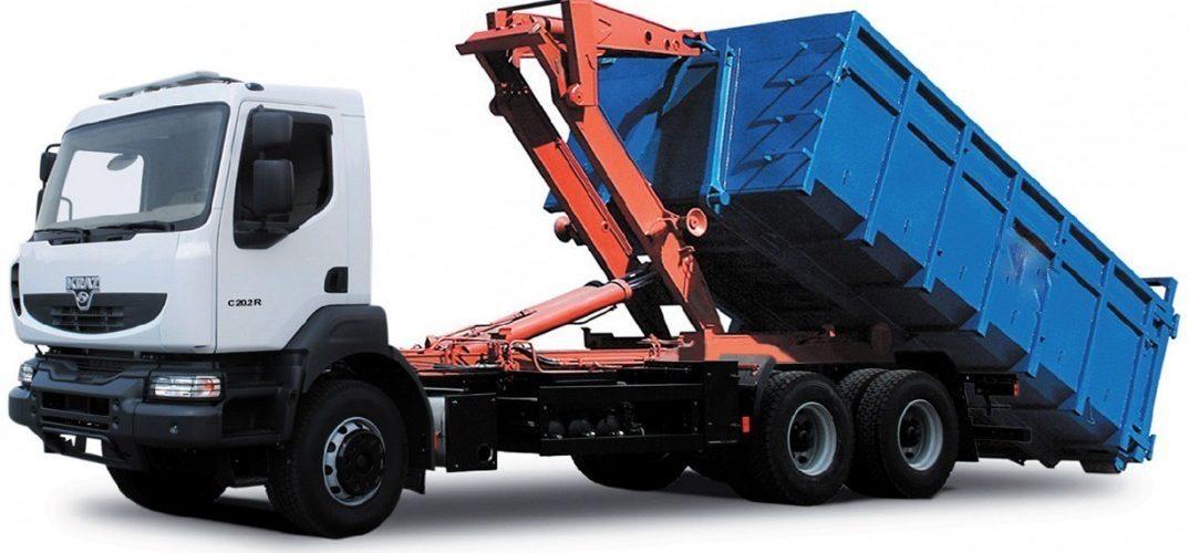 вывоз контейнеров и бункеров со строительным мусором