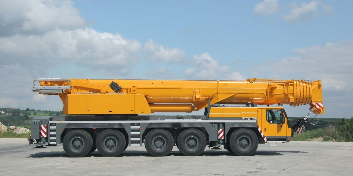 либхер автокран 200 тонн